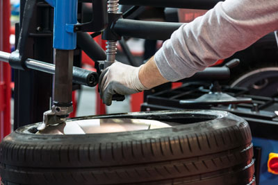 tire and wheel service equipment