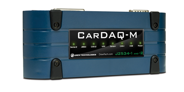 Cardaq-M Complete SAE J2534-1 and J2534-2 Capabilities