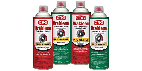 Brakleen Pro Brake Parts Cleaners