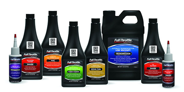 8 Full Throttle product bottles