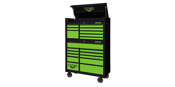 monster's toolbox keeps tools safe for technicians