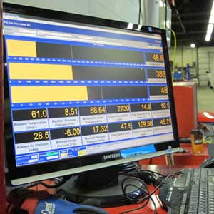 tuning an efi system on the dyno requires paying close attention to detail to get as close to 100 percent volumetric efficiency as possible. (photo from pro car associates efi university class)