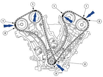 Fuel Pump Replacement besides Mercury Water Pump Kit in addition 4 0 Liter Ford Engine Wiring Diagram together with Kia Sorento Valve Cover Removal as well Engine Timing Belt Failures. on tech feature servicing ford s 3 0l engine