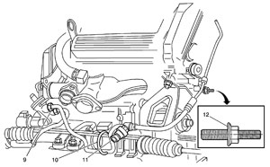 Tech Tip Cadillac Deville Makes A Moaning Noise. On 20002002 Eldorado Models Install The Plug And Oring Assembly Pn 26021965 To Pressure Switch Adapter New Power Steering Hose. Cadillac. 1999 Cadillac Deville Power Steering Diagram At Scoala.co