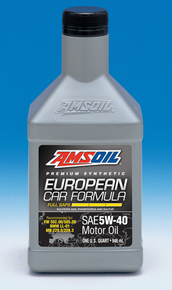 New Amsoil 5w 40 Full Saps Synthetic Motor Oil Completes