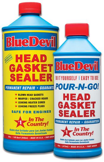 blue devil head gasket sealer reviews